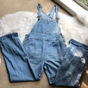Free People Oversized Overalls